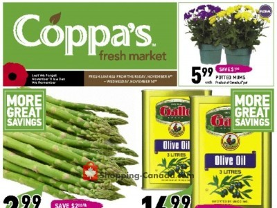 Coppa's Fresh Market Outdated Flyer Thumbnail