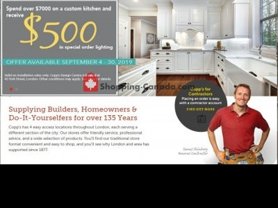 COPP's Buildall Outdated Flyer Thumbnail