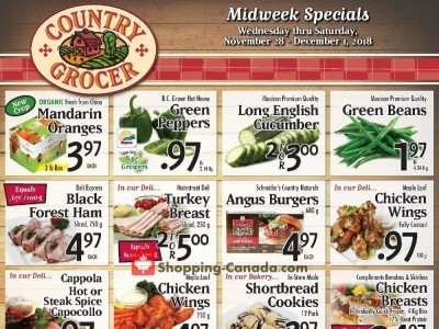 Country Grocer Outdated Flyer Thumbnail