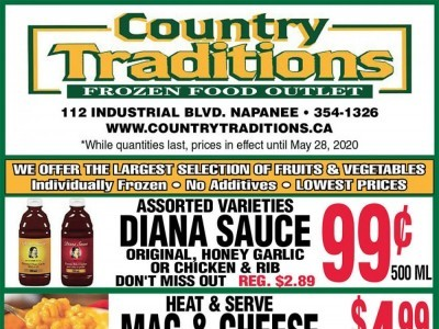 Country Traditions Outdated Flyer Thumbnail