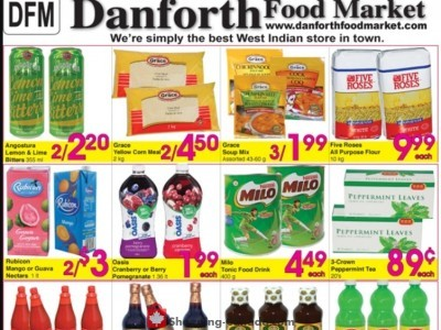 Danforth Food Market Flyer Thumbnail