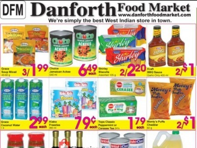 Danforth Food Market Outdated Flyer Thumbnail