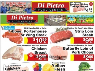 DiPietro's Outdated Flyer Thumbnail