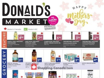 Donald's Market Outdated Flyer Thumbnail