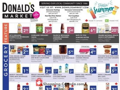 Donald's Market Flyer Thumbnail