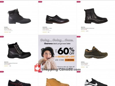 DSW Designer Shoe Warehouse Flyer Thumbnail