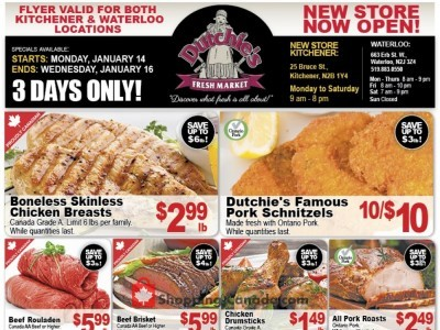 Dutchie's Fresh Market Outdated Flyer Thumbnail