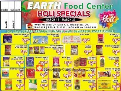 Earth Food Center Flyer Thumbnail