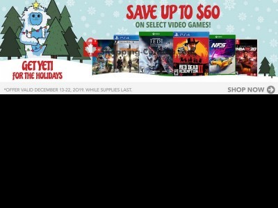 EB Games Outdated Flyer Thumbnail