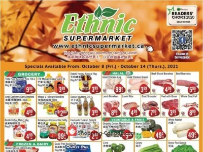 Ethnic Supermarket Outdated Flyer Thumbnail