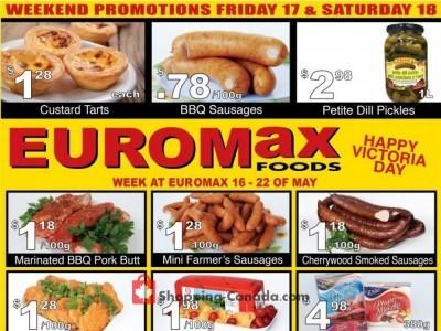 EuroMax Foods Flyer Thumbnail