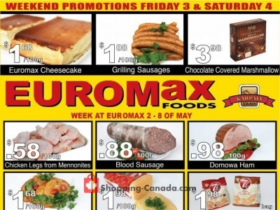 EuroMax Foods Outdated Flyer Thumbnail