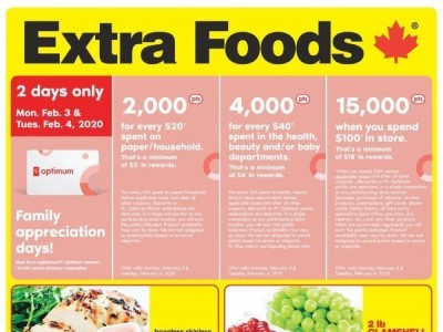 Extra Foods Outdated Flyer Thumbnail