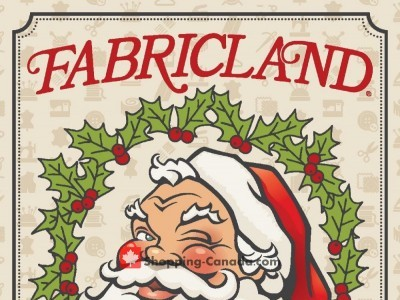 Fabricland Outdated Flyer Thumbnail