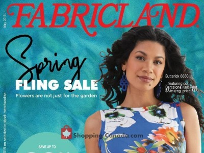 Fabricland Flyer Thumbnail