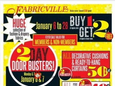 Fabricville Outdated Flyer Thumbnail