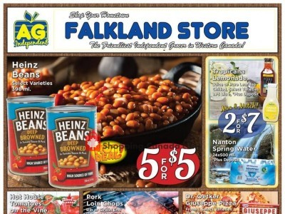 Falkland Store Ltd. Outdated Flyer Thumbnail