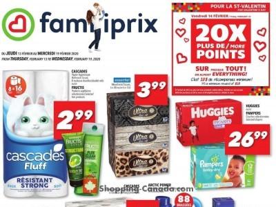 Familiprix Flyer Thumbnail