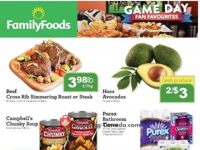 Family Foods Flyer Thumbnail