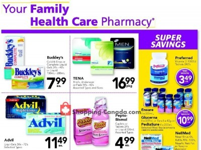 Family Healthcare Pharmacy Outdated Flyer Thumbnail