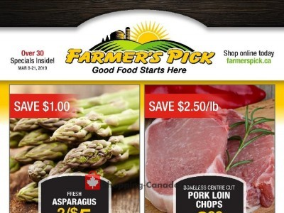 Farmers Pick Flyer Thumbnail