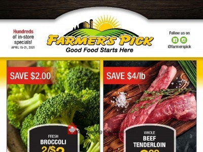 Farmers Pick Flyer Thumbnail