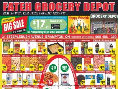 Fateh Grocery Depot Outdated Flyer Thumbnail