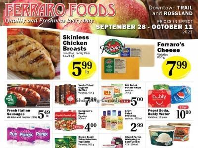 Ferraro Foods Flyer Thumbnail