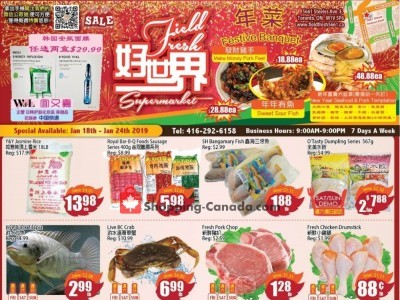 Field Fresh Supermarket Flyer Thumbnail