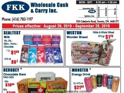 FKK Wholesale Cash & Carry Flyer Thumbnail