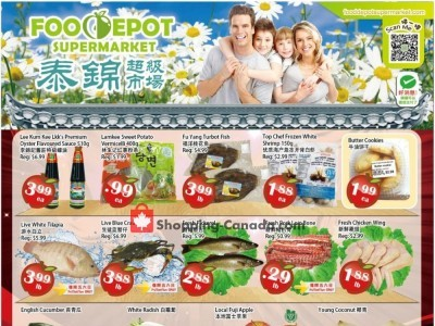 Food Depot Supermarket Outdated Flyer Thumbnail