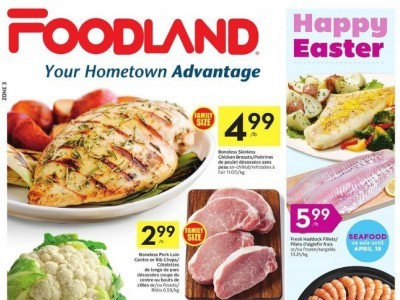 Foodland Outdated Flyer Thumbnail