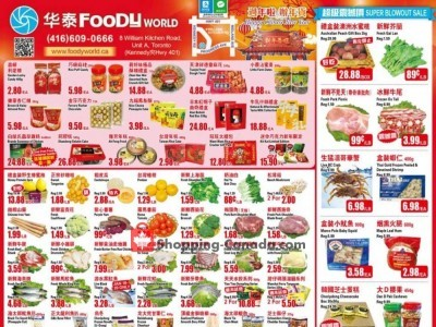 Foody World Flyer Thumbnail