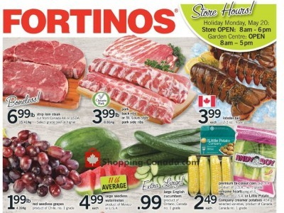 Fortinos Outdated Flyer Thumbnail