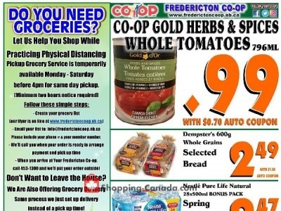 Fredericton Co-op Flyer Thumbnail