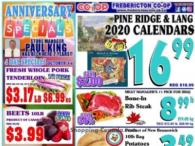 Fredericton Co-op Outdated Flyer Thumbnail