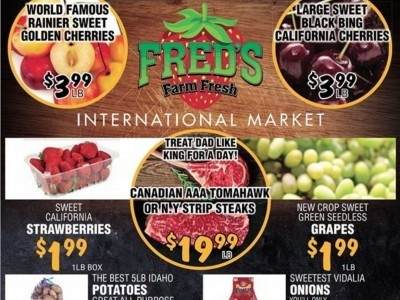 Fred's Farm Fresh Flyer Thumbnail
