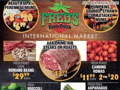 Fred's Farm Fresh Outdated Flyer Thumbnail