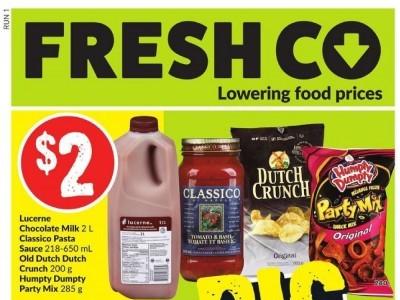 Fresh Co. Flyer Thumbnail