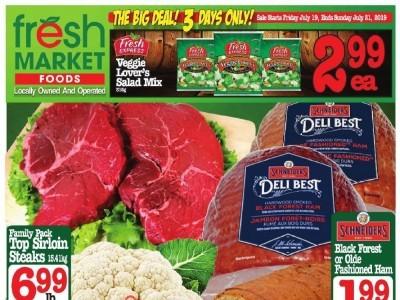 Fresh Market Foods Flyer Thumbnail