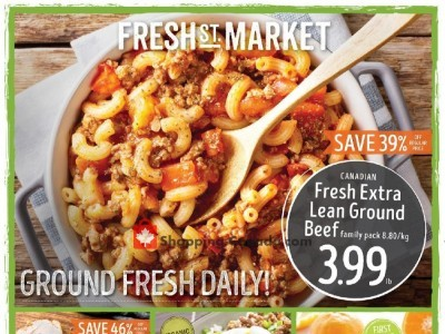 Fresh St. Market Outdated Flyer Thumbnail