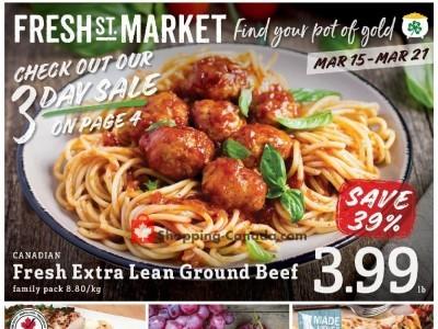 Fresh St. Market Flyer Thumbnail