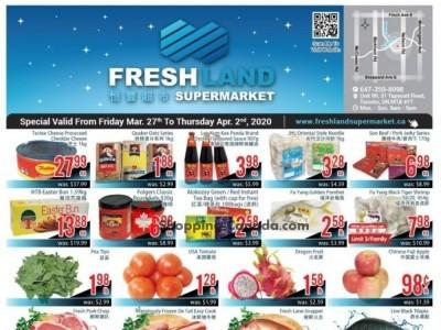 FreshLand Supermarket Flyer Thumbnail