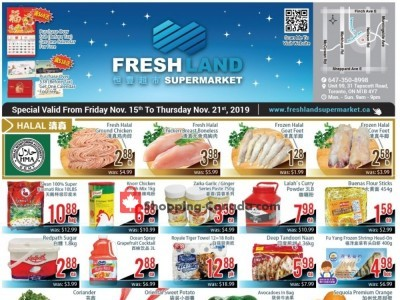 FreshLand Supermarket Outdated Flyer Thumbnail