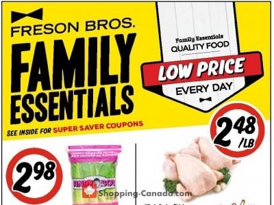 Freson Bros. Flyer Thumbnail
