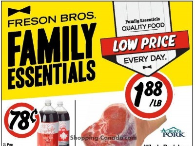 Freson Bros. Outdated Flyer Thumbnail