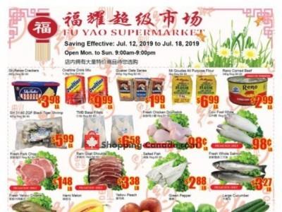 Fu Yao Supermarket Flyer Thumbnail