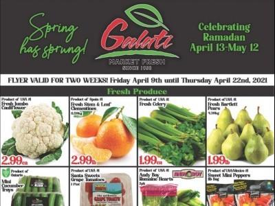 Galati Market Fresh Flyer Thumbnail