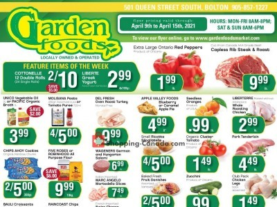 Garden Foods Outdated Flyer Thumbnail