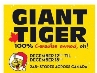 Giant Tiger Outdated Flyer Thumbnail